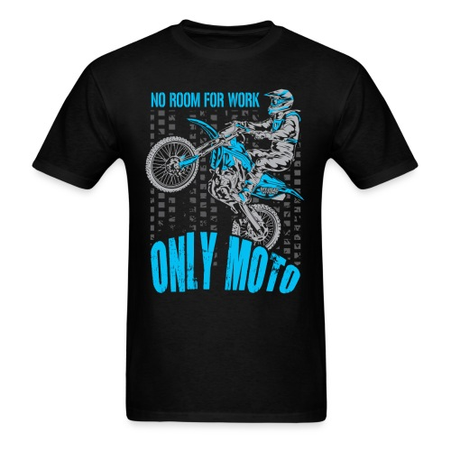 Dirt Bike Only Moto Yamaha - Men's T-Shirt