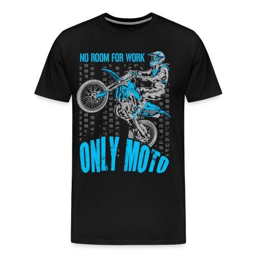 Dirt Bike Only Moto Yamaha - Men's Premium T-Shirt
