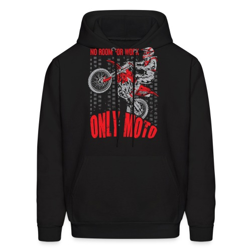Dirt Bike Only Moto Honda - Men's Hoodie