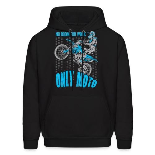 Dirt Bike Only Moto Yamaha - Men's Hoodie