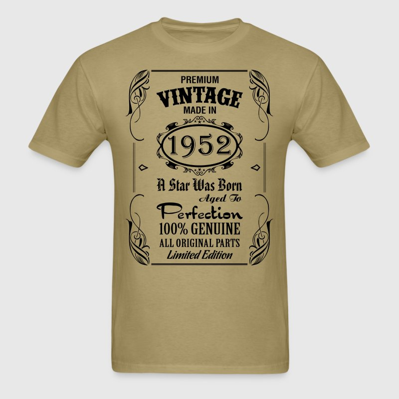 Premium Vintage Made In 1952..... T-Shirts - Men's T-Shirt