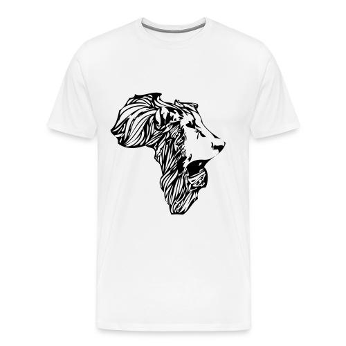 Africa Roaring - Men's Premium T-Shirt