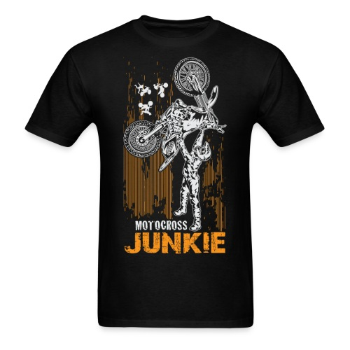 Motocross Junkie - Men's T-Shirt