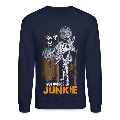 Motocross Junkie - Crewneck Sweatshirt