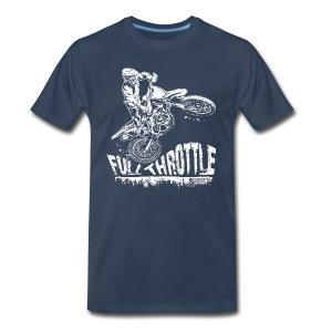 Motocross Full Throttle - Men's Premium T-Shirt