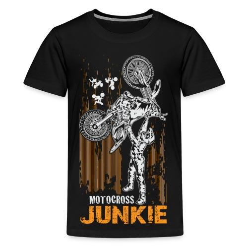 Motocross Junkie - Kids' Premium T-Shirt
