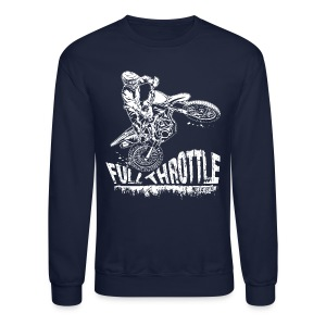Motocross Full Throttle - Crewneck Sweatshirt