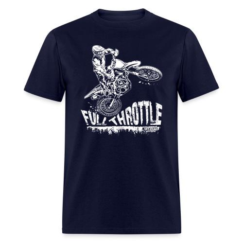 Motocross Full Throttle - Men's T-Shirt