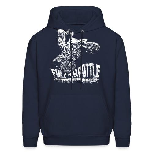 Motocross Full Throttle - Men's Hoodie