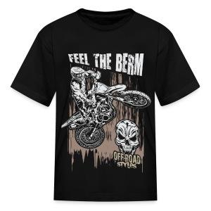 Dirt Biker Feel The Berm - Kids' T-Shirt