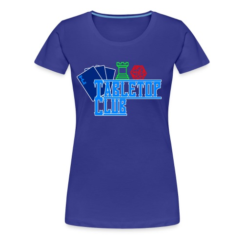 Tabletop Female - Women's Premium T-Shirt