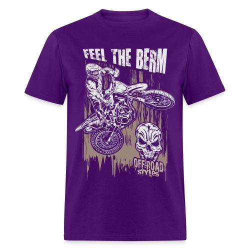 Dirt Biker Feel The Berm - Men's T-Shirt