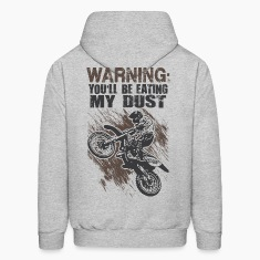 Motocross Dust Warning Hoodies