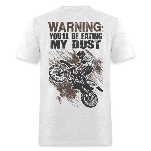 Motocross Dust Warning - Men's T-Shirt