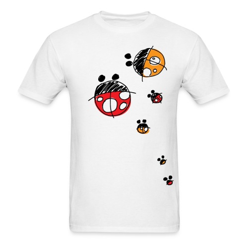 Ladybird Family T-Shirt - Men's T-Shirt