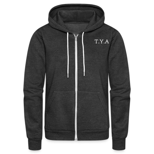 T.Y.A Track Jacket  - Unisex Fleece Zip Hoodie