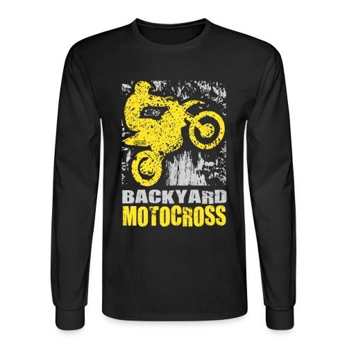 Backyard Motocross Suzuki - Men's Long Sleeve T-Shirt