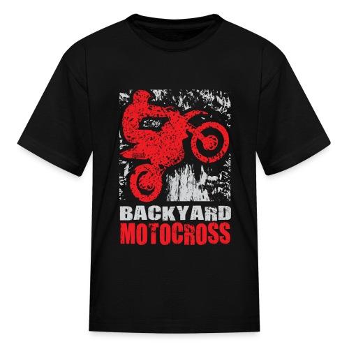 Backyard Motocross Honda - Kids' T-Shirt