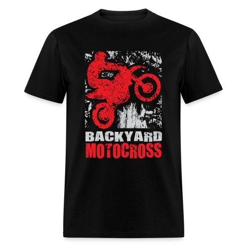 Backyard Motocross Honda - Men's T-Shirt