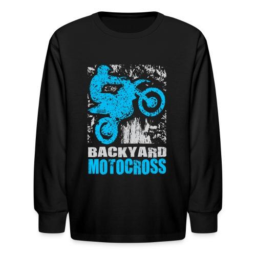 Backyard Motocross Yamaha - Kids' Long Sleeve T-Shirt