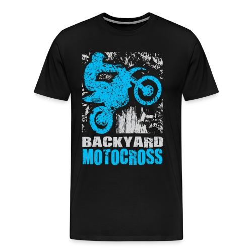 Backyard Motocross Yamaha - Men's Premium T-Shirt