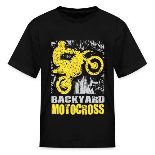 Backyard Motocross Suzuki - Kids' T-Shirt