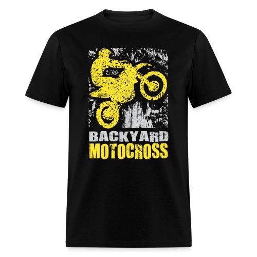 Backyard Motocross Suzuki - Men's T-Shirt