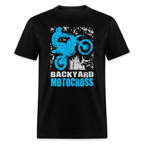 Backyard Motocross Yamaha - Men's T-Shirt