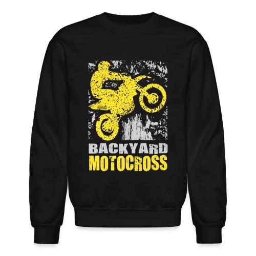 Backyard Motocross Suzuki - Crewneck Sweatshirt