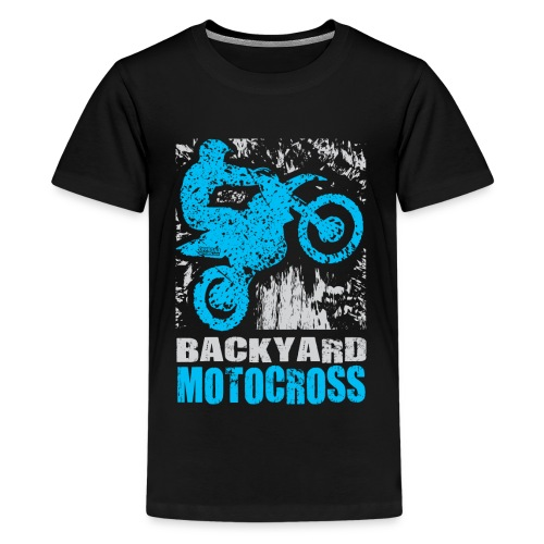 Backyard Motocross Yamaha - Kids' Premium T-Shirt