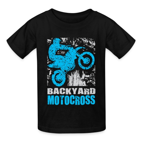 Backyard Motocross Yamaha - Kids' T-Shirt