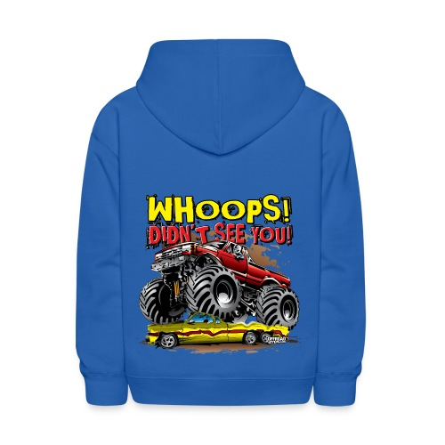 Monster Truck Accident - Kids' Hoodie