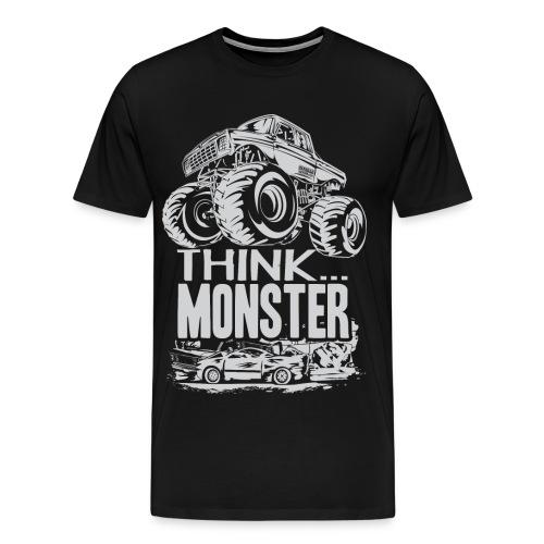 Think Monster Truck - Men's Premium T-Shirt