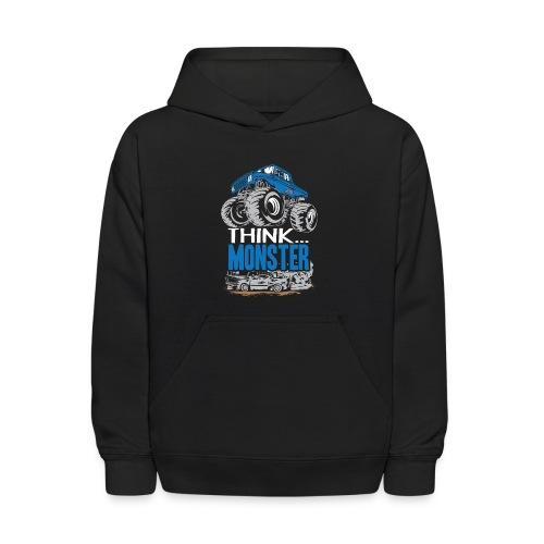 Think Monster Truck - Kids' Hoodie