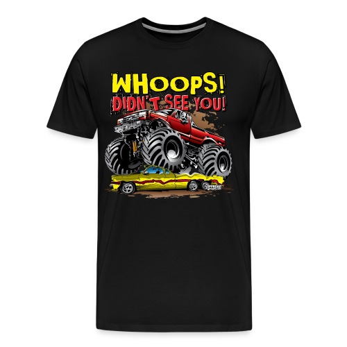 Monster Truck Accident - Men's Premium T-Shirt