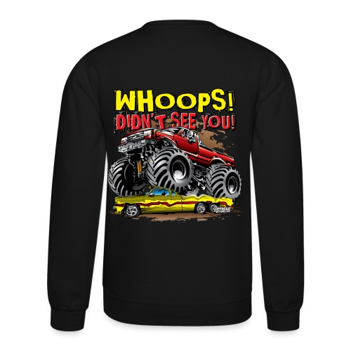 Monster Truck Accident - Crewneck Sweatshirt