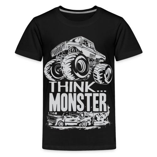 Think Monster Truck - Kids' Premium T-Shirt