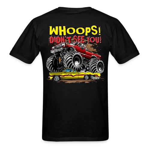 Monster Truck Accident - Men's T-Shirt