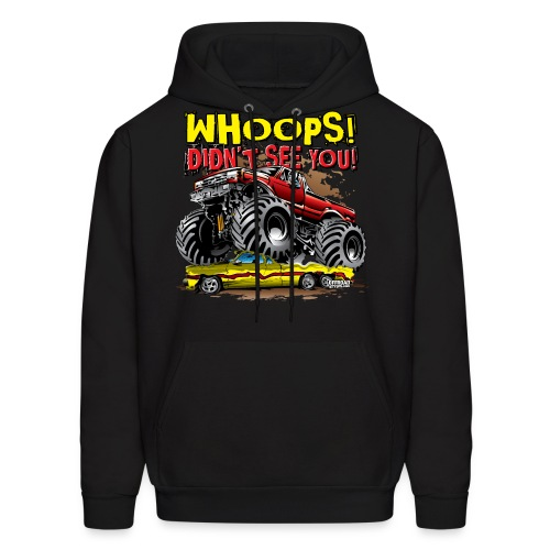 Monster Truck Accident - Men's Hoodie
