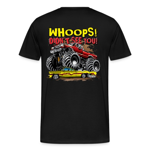 Monster Truck Accident - Men's Premium T-Shirt