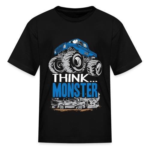 Think Monster Truck - Kids' T-Shirt