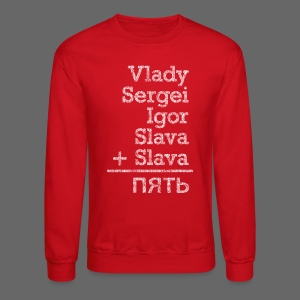 Five from Russia - Crewneck Sweatshirt