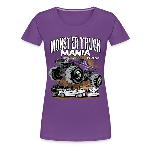 Monster Truck Mania - Women's Premium T-Shirt