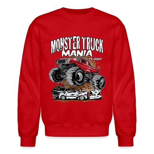 Monster Truck Mania - Crewneck Sweatshirt