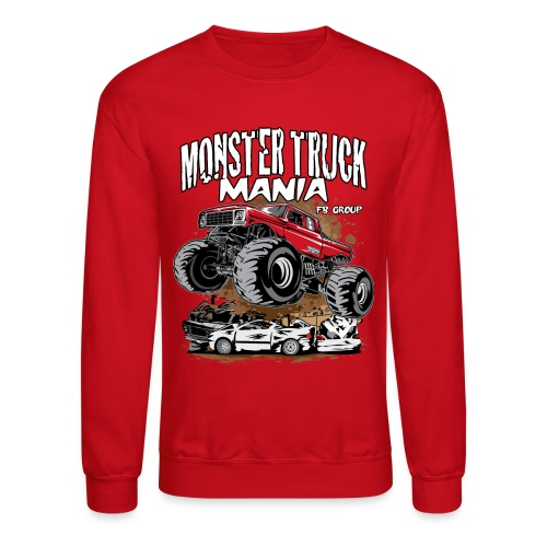 Monster Truck Mania - Crewneck Sweatshirt