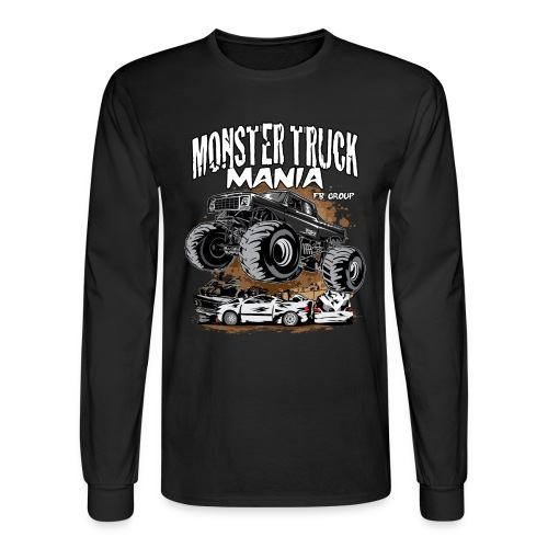 Monster Truck Mania - Men's Long Sleeve T-Shirt