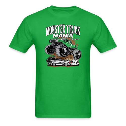 Monster Truck Mania - Men's T-Shirt