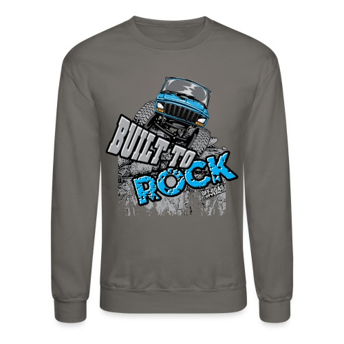 Jeeps Built to Rock - Crewneck Sweatshirt