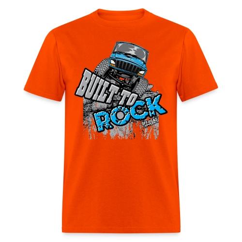 Jeeps Built to Rock - Men's T-Shirt