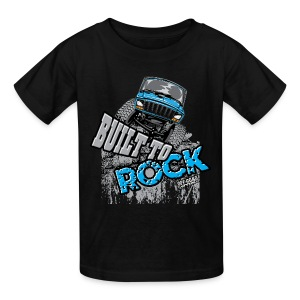 Jeeps Built to Rock - Kids' T-Shirt